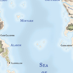 Faerun Map - LoreMaps