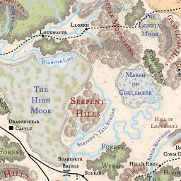 Faerun map loremaps faerun map gumiabroncs Gallery