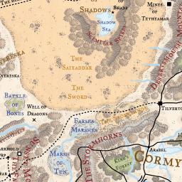 Faerun map loremaps gumiabroncs Gallery
