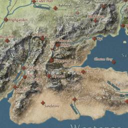 Game of Thrones Map - LoreMaps